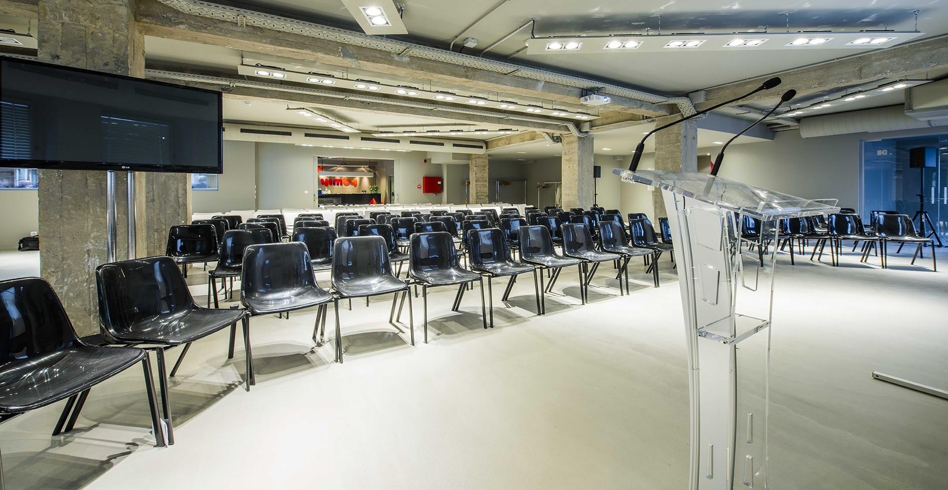 La sala YES en formato teatro para una conferencia