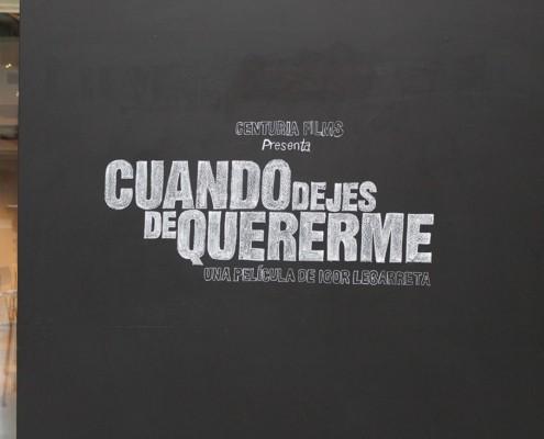 "RUEDA DE PRENSA ""CUANDO DEJES DE QUERERME"""