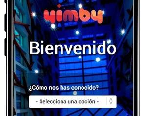 Portal de acceso a la red WiFi de YIMBY