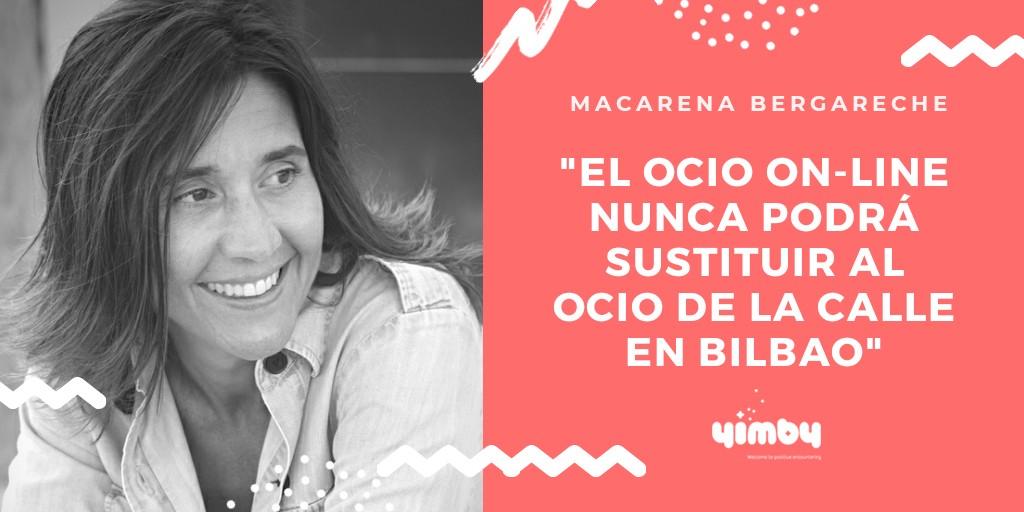 Macarena Bergareche, Directora, Think Chic, Entrevista, Yimby, Blog, Bilbao, Eventos, Organización, Espacios, Comunicación, Marketing, Ocio, Digital, Confinamiento, País Vasco
