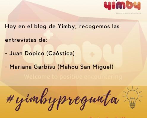 yimbypregunta, yimby, bilbao, entrevistas, eventos, marketing, marketing online, Caostica, festival, cine, cortometrajes, hostelería, San Miguel, Mahou