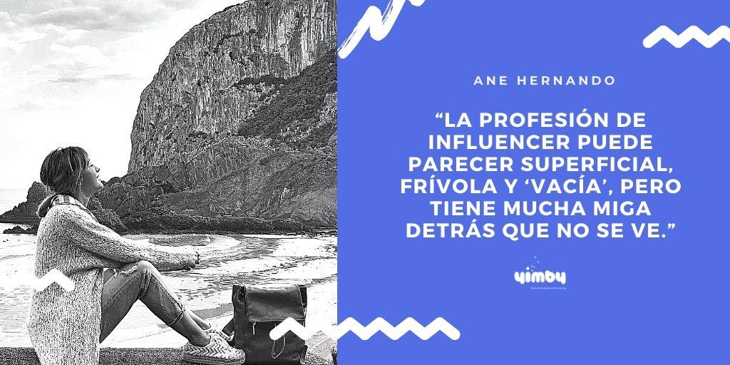 Ane Hernando, Influencer, Creadora, Contenidos, Instagram, Redes Sociales, Bizkaia, Instagrammer, Entrevista, Yimby, Blog, Bilbao, Eventos, Organización, Espacios, Comunicación, Marketing, Digital, Confinamiento, País Vasco