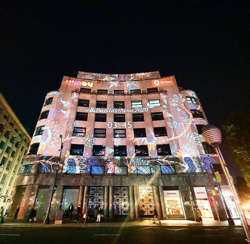 Yimby, YimbyBilbao, BilbaoUdazkena2020, Gauzuria, Ayuntamiento de Bilbao, Eventos, Espacios, Comunicación, Marketing, Bilbao, Bizkaia, BilbaoTurismo, Videomapping, Iluminacion, Eventos Culturales
