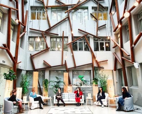 Yimby, eventos, Bilbao, FoodFun&Fan, alimentación, comunicación, marketing, espacios, País Vasco, Euskadi, Organización, Eventos híbridos, Virtual, Online, Yimby Live, Streaming, Ponencias, Digital, Startup, Networking, Blog, Bizkaia, Contenidos, EIT Food