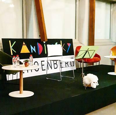 4ª Edición Por Amor al Arte - Kandinsky y Schoenberg, la relación entre las artes
