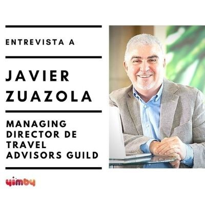 Foto entrevista Javier Zuazola, managing director de Travel Advisors Guild