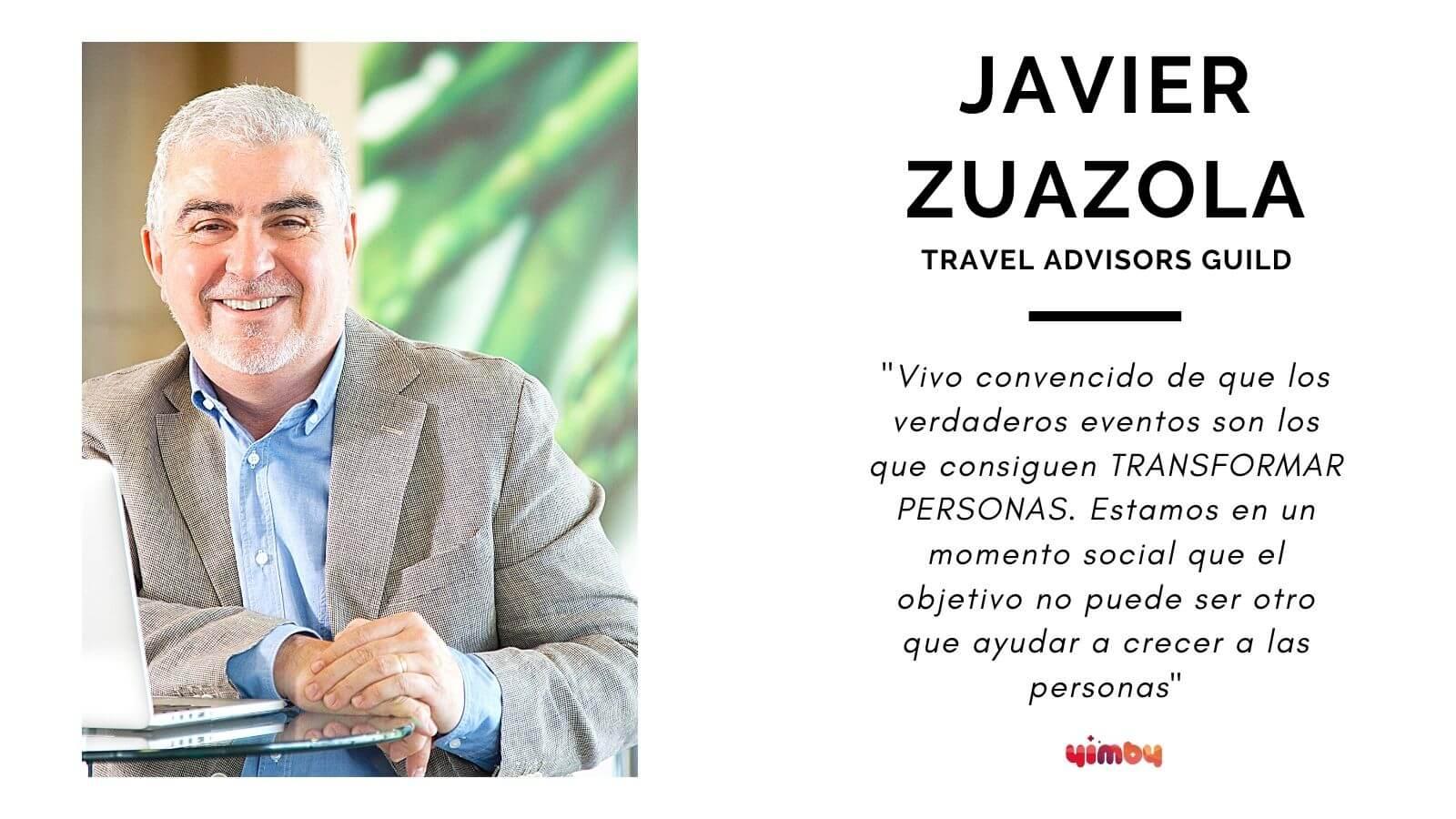 Foto entrevista Javier Zuazola, managing director de Travel Advisors Guild