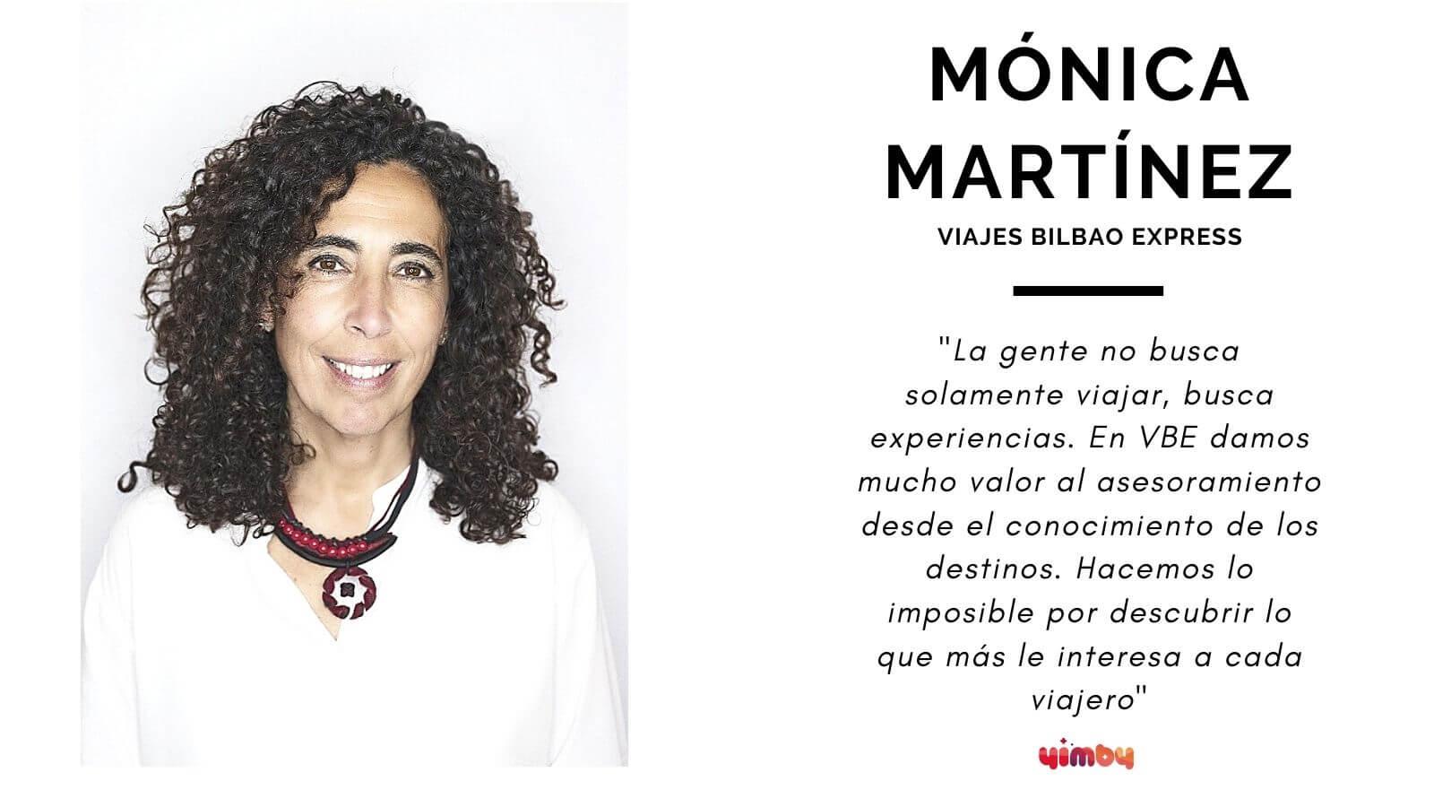 Foto Entrevista Mónica Martínez de Viajes Bilbao Express